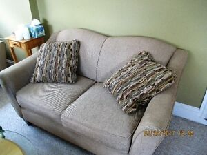 Lazy Boy Couch and Loveseat Set Used