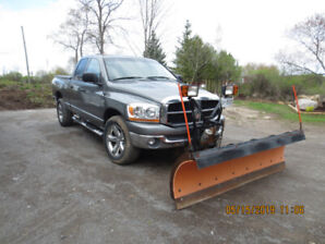 2006 Dodge Ram and Plough