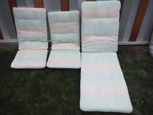 3 Lawn Chair Cushions West Island Greater Montréal image 1