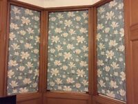 Roman blinds and matching cushions