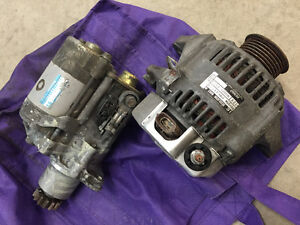 Like New - 2001 Toyota Camry Alternator and Starter for 2.2L eng