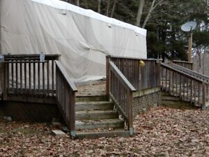 For Sale - deck 40 feet long by 8 feet wide with 2 stairs