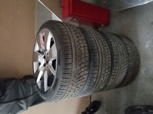 Audi mags with NEW WINTER TIRES 225/40/R18
