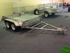 WA Best Value! GALVANIZED TANDEM BRAKED 8x5 BOX TRAILER O'Connor Fremantle Area Preview