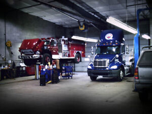 Looking for a Truck repair Garage for rent