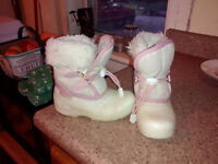 girls winter boots size 10