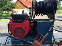 Pompe à gazoline de lavage