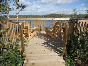 Serviced Lakefront Lots at Lucien Lake - Welcome to the Lake!