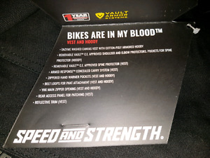 Speed & Strength Brand Armoured Motorcycle Gear