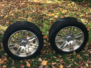 4-235/45/17 Continental WinterContactSI on Alloys - Excellent!