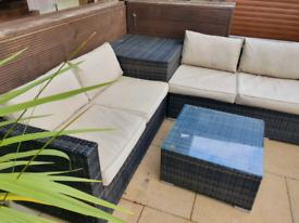 Garden upholstery clean