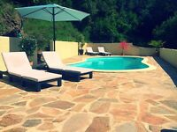 4 bed villa with pool in the south of France