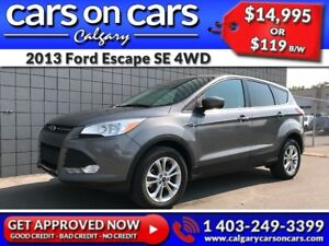 2013 Ford Escape SE  4WD $0 DOWN, $119 B/W! APPLY NOW!