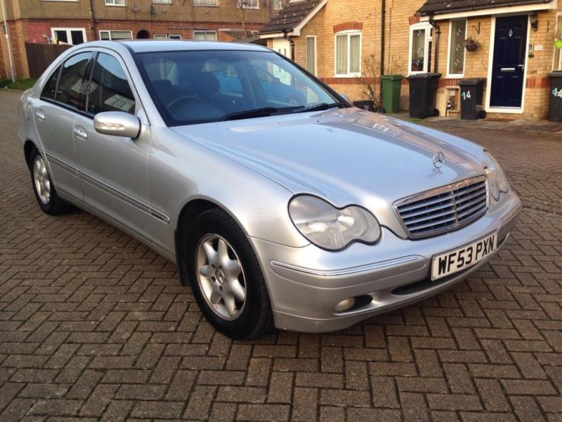 2003 mercedes benz c class 2 1 c200 cdi elegance se 4dr for Mercedes benz 2003