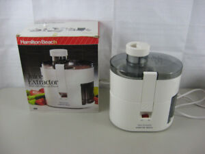 Hamilton Beach Juice Extractor a vendre