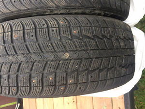 FOR SALE: Used 4 Winter Tires Studded St. John's Newfoundland image 10