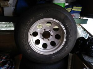 4 TIRE AND ALUMINIUM RIMS / mag wheel
