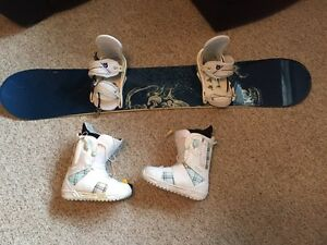 Women's Snowboard Package