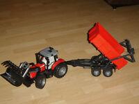 Tracteur et équipements Bruder