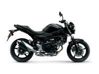 SUZUKI SV650 SV 650 2020 GLASS SPARKLE BLACK - BRAND NEW - UNREG'D - £500 Off!