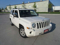 2008 Jeep Patriot Automatic, Certified SUV, Crossover