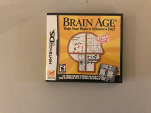 Brain Age for the Nintendo DS