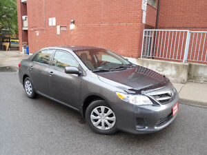 2013 TOYOTA COROLLA,ONLY 95K ,HANDSFREE BLUETOOTH ,HEATED SEATS!