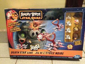 Jeux de société Stratégo et Angry Bird