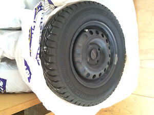 Winter Tires on Rims 13inch
