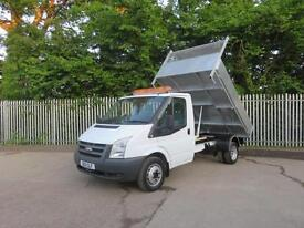 FORD TRANSIT 350 2.4 MWB 1 WAY TIPPER 115 BHP NEW TIPPER BODY 6 SPEED