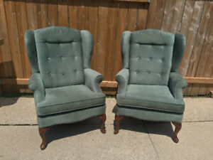 Sklar Peppler Wingback Chairs