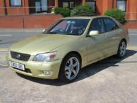 2002 LEXUS IS200 AUTOMATIC SE 5 DOOR SALOON + NEW MOT