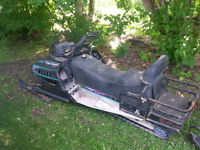 1995 POLARIS TRAN SPORT 2 UP SLED FIRST $580 TAKES IT