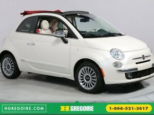 2015 Fiat 500c LOUNGE CONVERTIBLE A/C BLUETOOTH MAGS