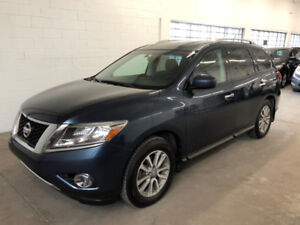NISSAN PATHFINDER 2014 + SV + AWD + CAMERA + BLUETOOTH + 7 PASS