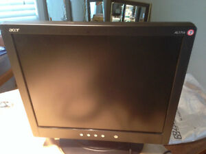 Acer Monitor 14 inch with stand Kitchener / Waterloo Kitchener Area image 1