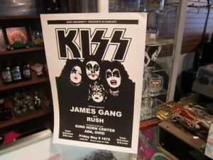KISS Wall Art Poster For Sale