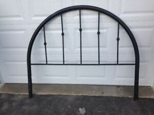 ** LAST CHANCE ** for this  VINTAGE Queen Metal Headboard