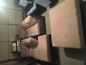 Moving Sale: L Shape Sectional Couch + Other (Great Shape)