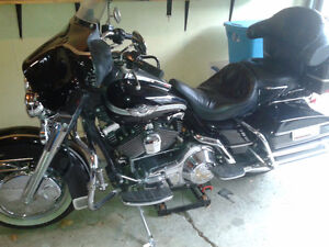 2003 Harley Electra Glide Classic 100th Anniversary + Boots +Bag