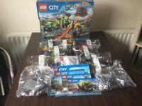 Lego City 60124 Volcano Exploration Base Complete