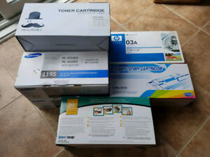 Laser Printer Toner Cartridges - Brother/HP/Samsung Dirt Cheap