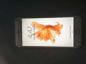 iPhone 6s Plus Rose Gold 16GB Cracked Screen. Must sell fast