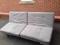 Double Grey Sofa Bed From Debenhams