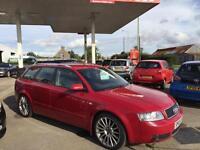 AUDI A4 AVANT TDI SPORT, Red, Manual, Diesel, 2003