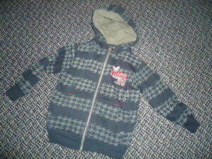 Boys Size 3 Full Zip Rock Vintage Hoodie by Cherokee