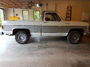 1980 Chevrolet Silverado w/ original 350-4bbl and 70K - MINT!