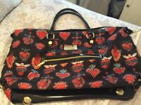 Good condition Betsey Johnson Travel bag