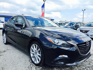 2016 Mazda Mazda3 GT-SKY 2.5 SPORT TECHNOLOGY/ Only 9,005 KM /