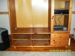 Solid Wood TV/Stereo Cabinet